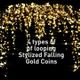 Stylized Falling Gold Coins - VideoHive Item for Sale
