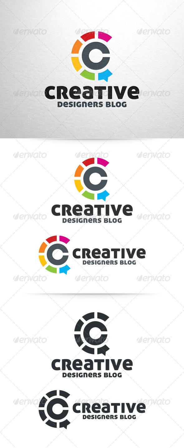 Creative blog letter c logo by liveatthebbq graphicriver creative blog letter c logo letters logo templates spiritdancerdesigns Gallery