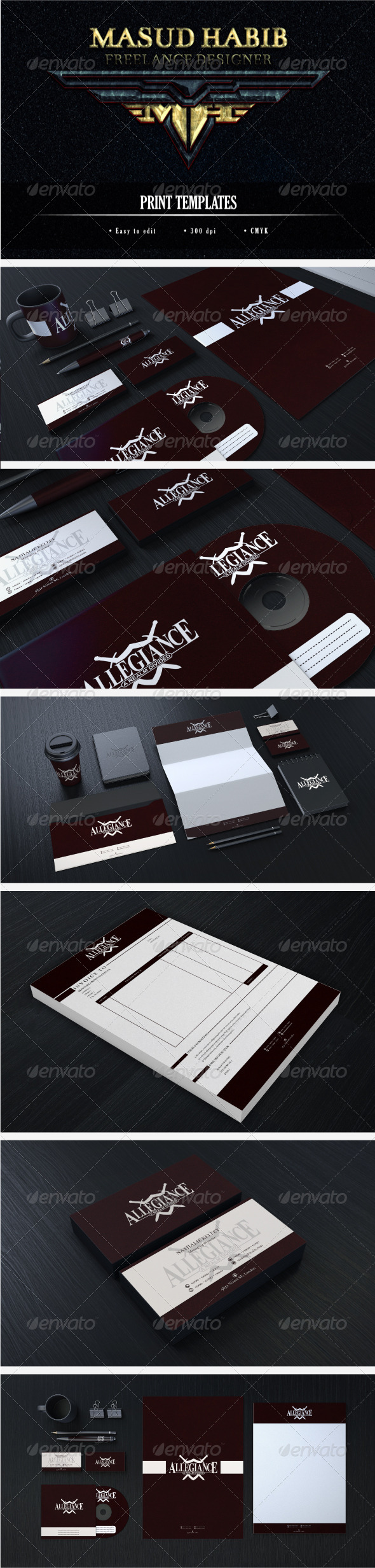 Creative Corporate Identity 12 - Stationery Print Templates