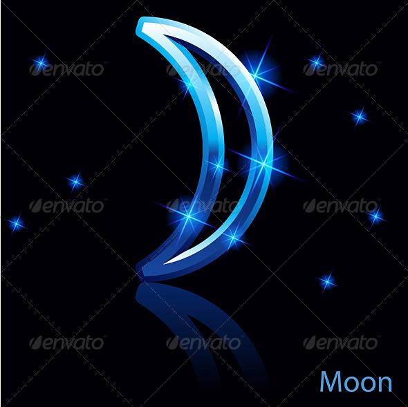 Moon Sign - Landscapes Nature