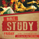 Church Bible Study Flyer - GraphicRiver Item for Sale