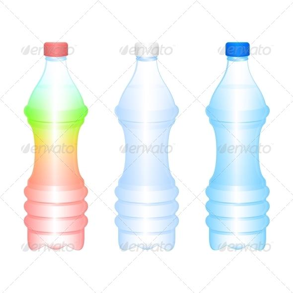 Bottles - Objects Vectors
