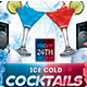 Ice Cocktails Flyer - GraphicRiver Item for Sale