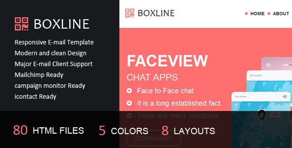 Boxline – Responsive E-mail Template