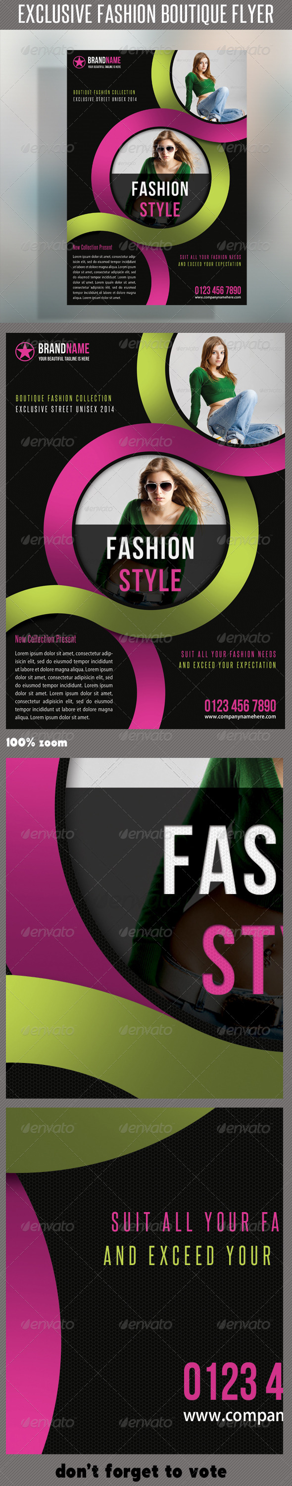 Fashion Product Flyer 26 - Commerce Flyers