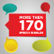 More Than 170 Speech Bubbles - GraphicRiver Item for Sale