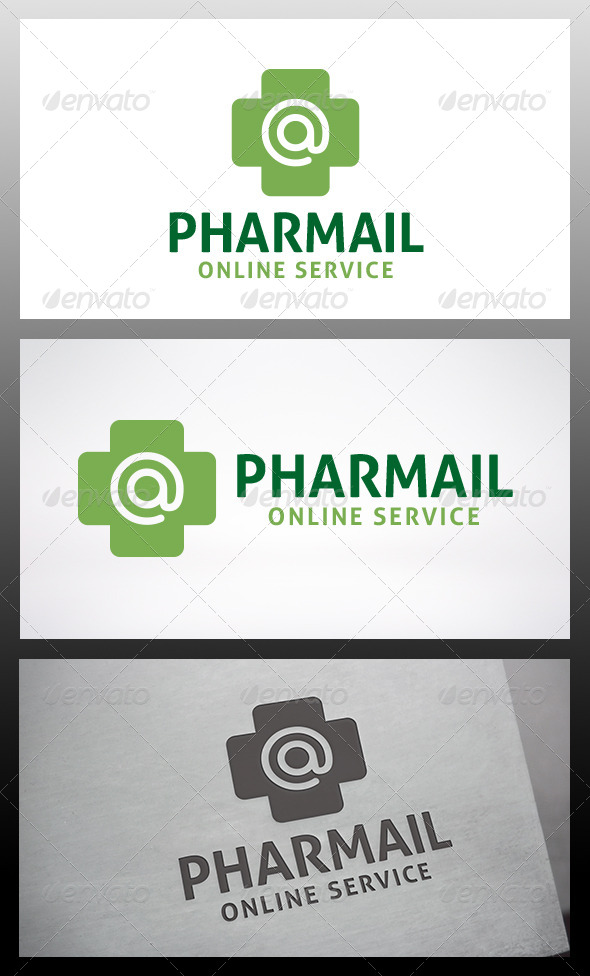 Pharmacy Mail Logo - Nature Logo Templates