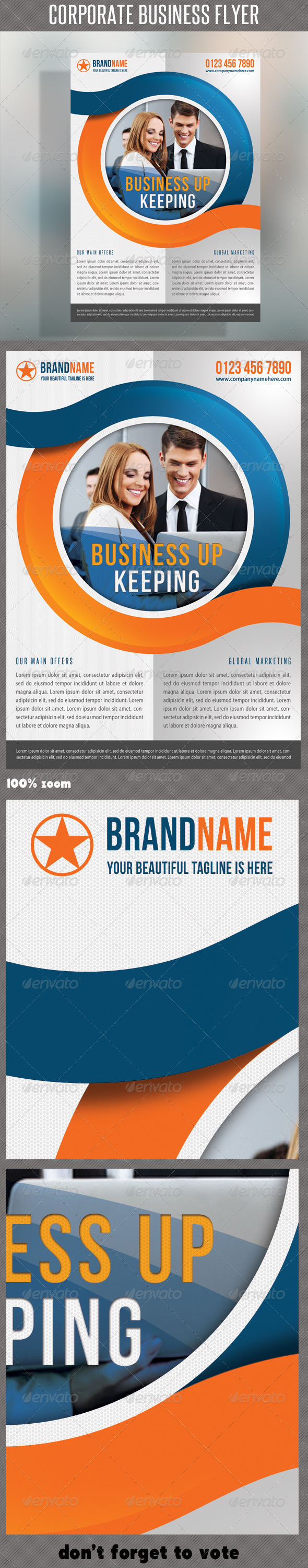 Corporate Product Flyer 53 - Corporate Flyers
