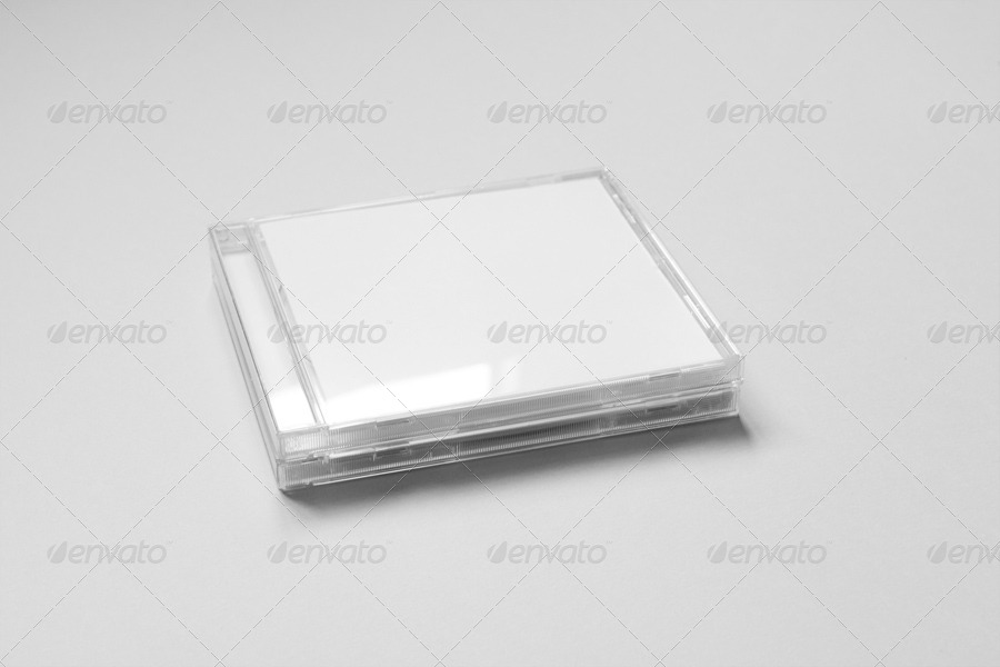Realistic Cd Jewel Case MockUp By Yooken  Graphicriver