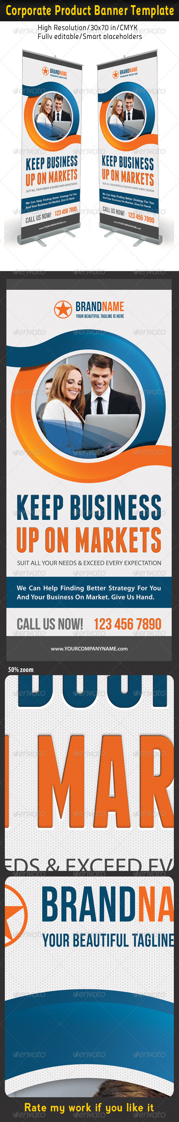 Corporate Multipurpose Banner Template 35 - Signage Print Templates