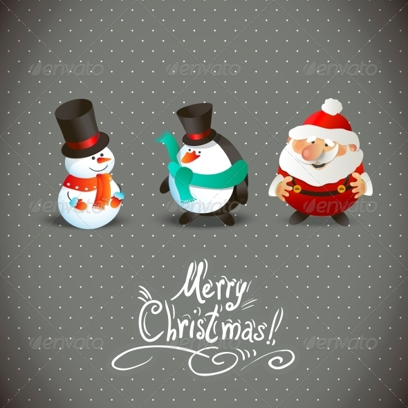 Christmas Characters - Patterns Decorative