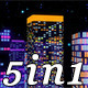 Color Night City Pack 5 in 1 - VideoHive Item for Sale