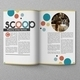 Circle Magazine Template-Indesign 24 Page Layout - GraphicRiver Item for Sale