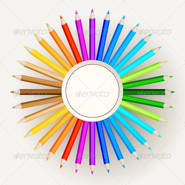 Pencil Colors - Man-made Objects Objects