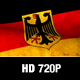 Germany Flag Loop - VideoHive Item for Sale