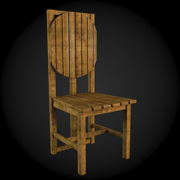 Garden Furniture 028 - 3DOcean Item for Sale