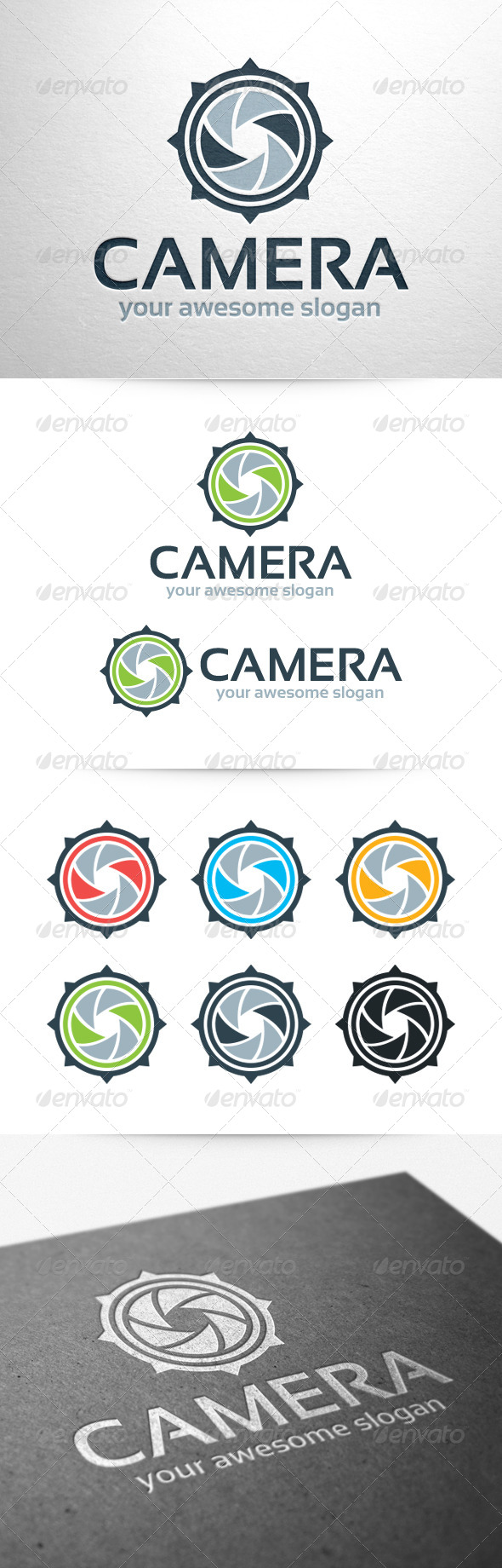 Camera Logo Template - Symbols Logo Templates