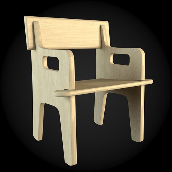 Garden Furniture 044 - 3DOcean Item for Sale