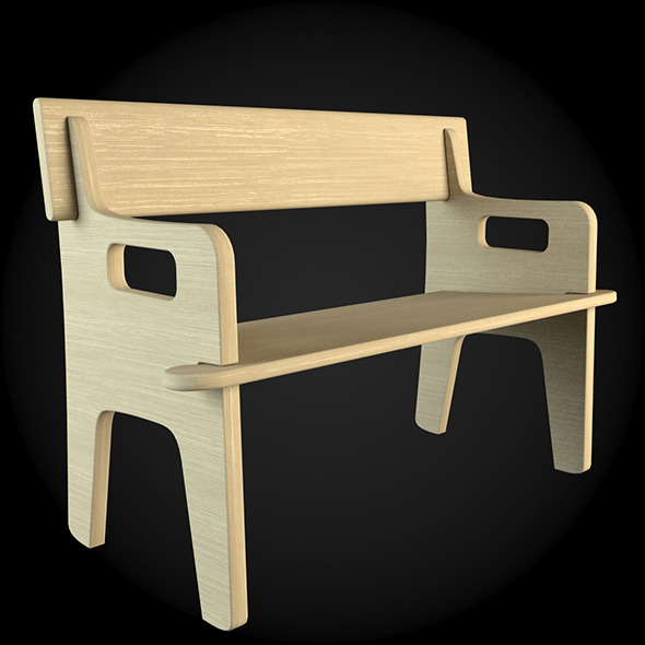 Garden Furniture 045 - 3DOcean Item for Sale