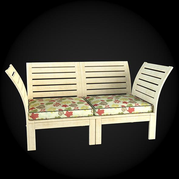 Garden Furniture 047 - 3DOcean Item for Sale