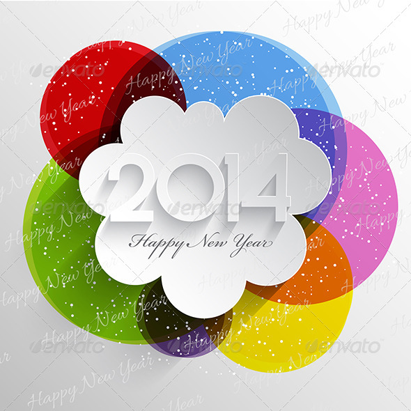 Happy New Year Background - New Year Seasons/Holidays