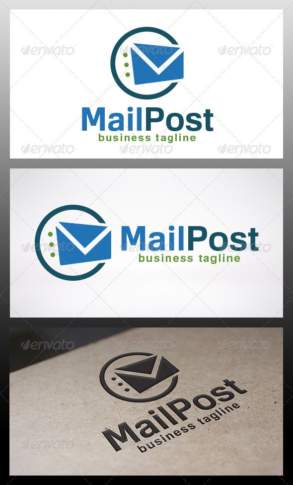 Mail Logo Template - Objects Logo Templates