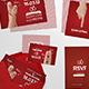 """Handsy"" Complete Wedding Stationery Set - GraphicRiver Item for Sale"