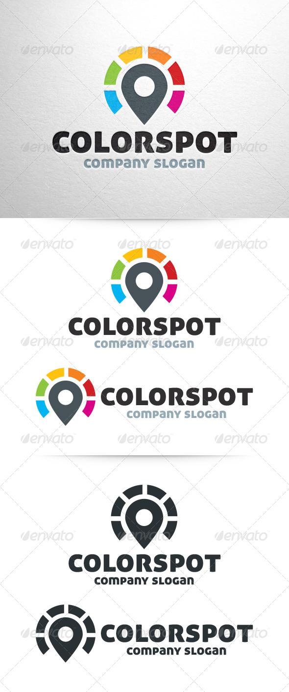 Color Spot Logo - Symbols Logo Templates