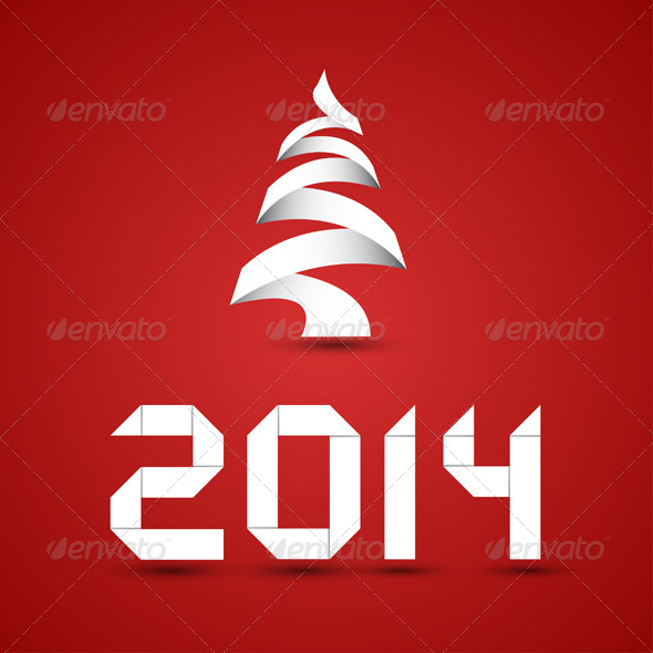 New 2014 Year Numbers - Christmas Seasons/Holidays