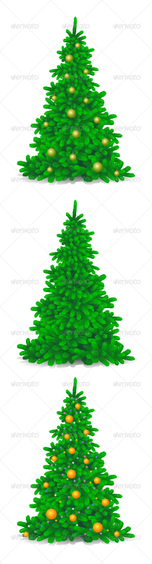 Christmas Trees - Christmas Seasons/Holidays