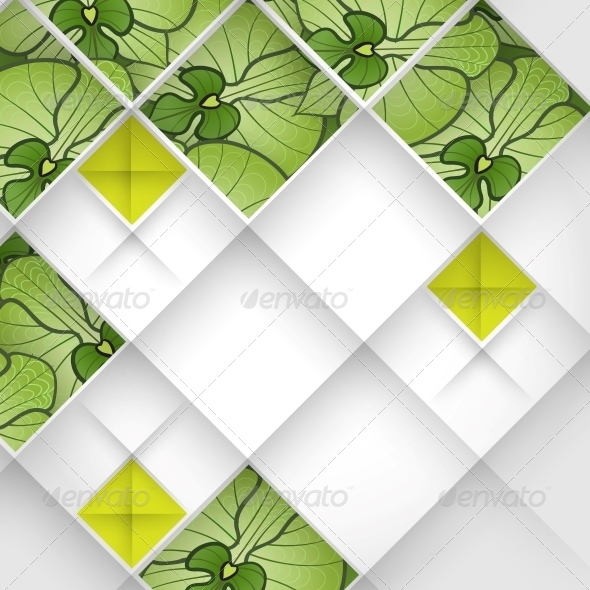 Abstract 3D Geometrical Design.   - Backgrounds Decorative