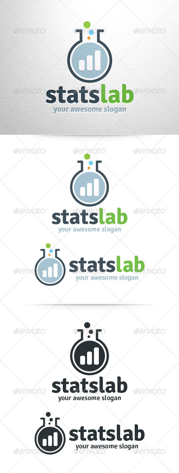 Stats Lab Logo - Symbols Logo Templates