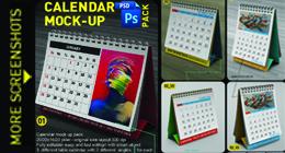 calendar mock up