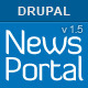 Global News Portal - Responsive Drupal Theme Nulled