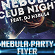 Nebula Party Flyer Template - GraphicRiver Item for Sale