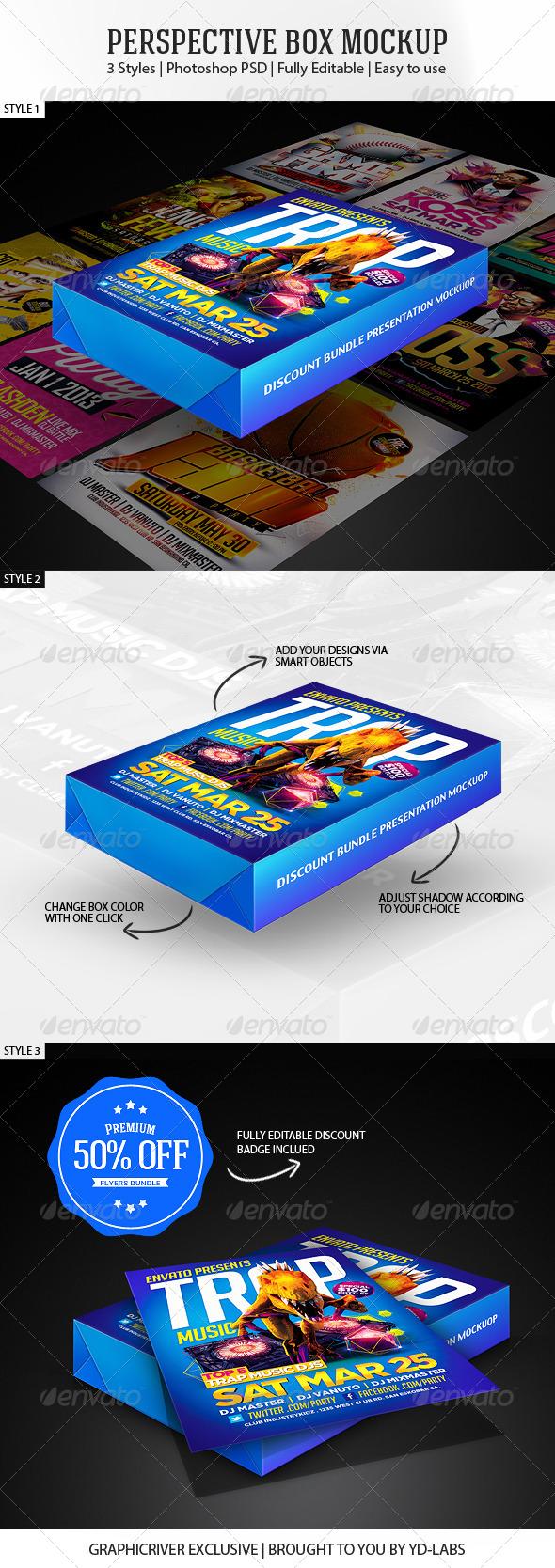 Perspective Box Mockup V1