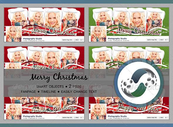 Merry Christmas! - Facebook Timeline Covers Social Media