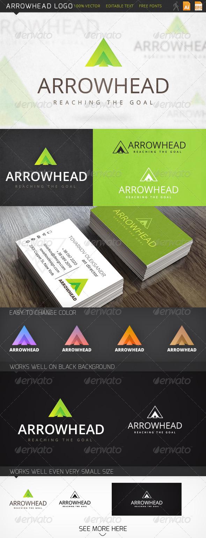 Arrowhead Letter A Logo Template - Abstract Logo Templates