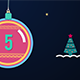 Countdown Christmas Shapes - VideoHive Item for Sale