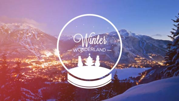 vintage winter christmas slides by forzi videohive