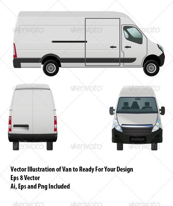 Van - Objects Vectors