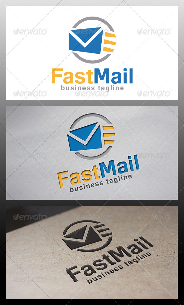 Fast Mail Logo - Abstract Logo Templates