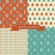 Retro Christmas Patterns - GraphicRiver Item for Sale