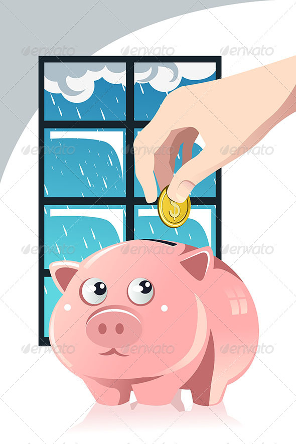 Saving for the Rainy Day - Conceptual Vectors