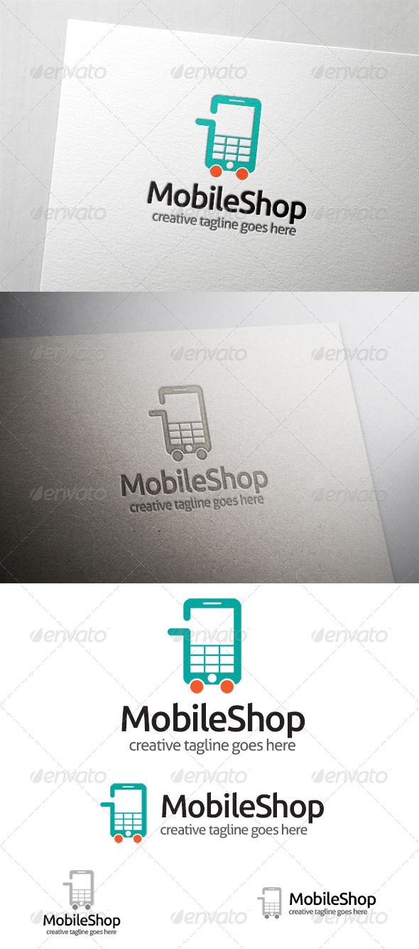 Mobile Shop Logo - Objects Logo Templates