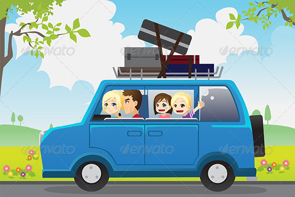 Family Travel - Travel Conceptual