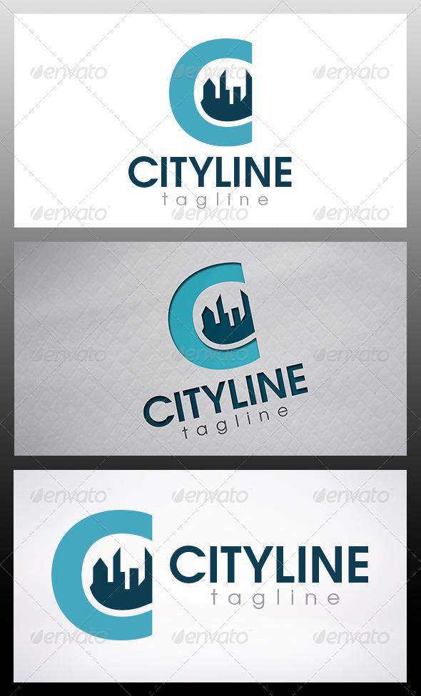 City Letter C Logo - Letters Logo Templates