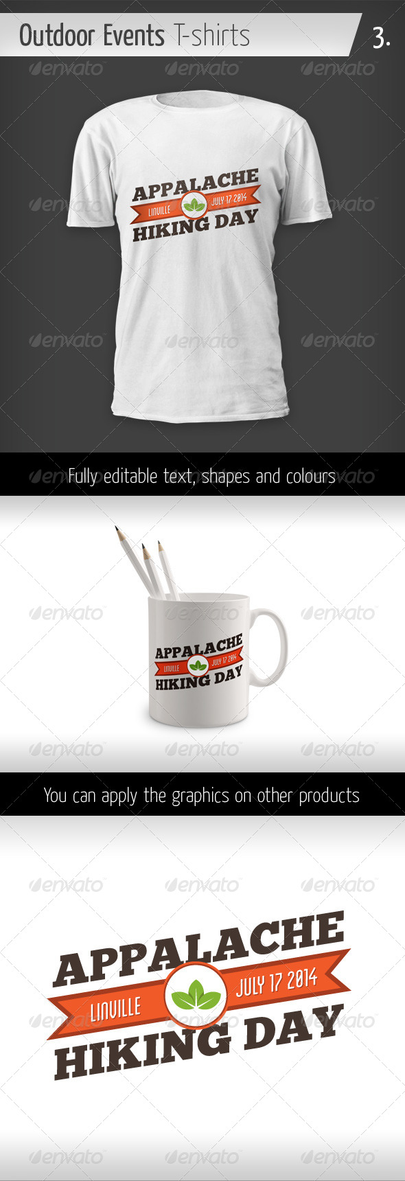 Outdoor Events T-shirts - Hiking Day - Events T-Shirts