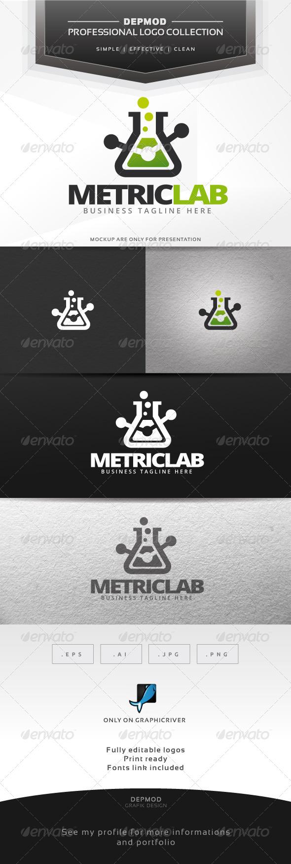 Metric Lab Logo - Symbols Logo Templates