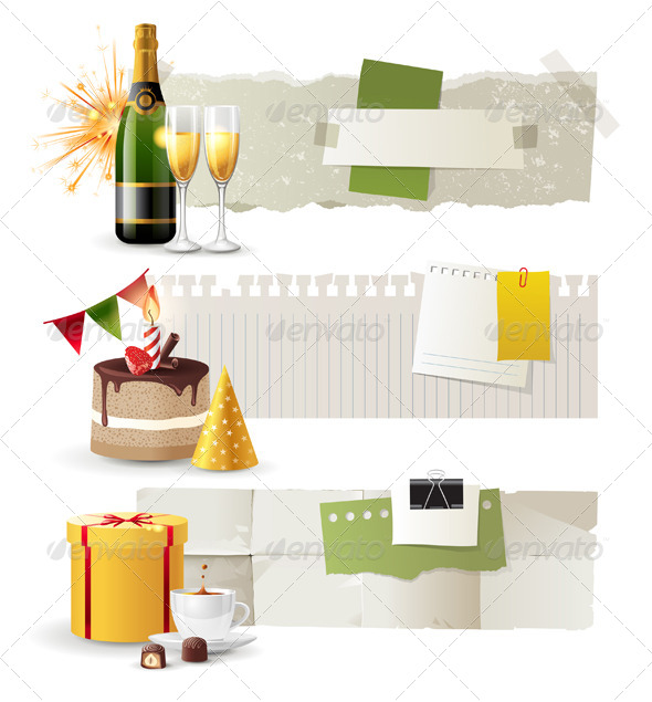 Celebration Banners - Seasons/Holidays Conceptual